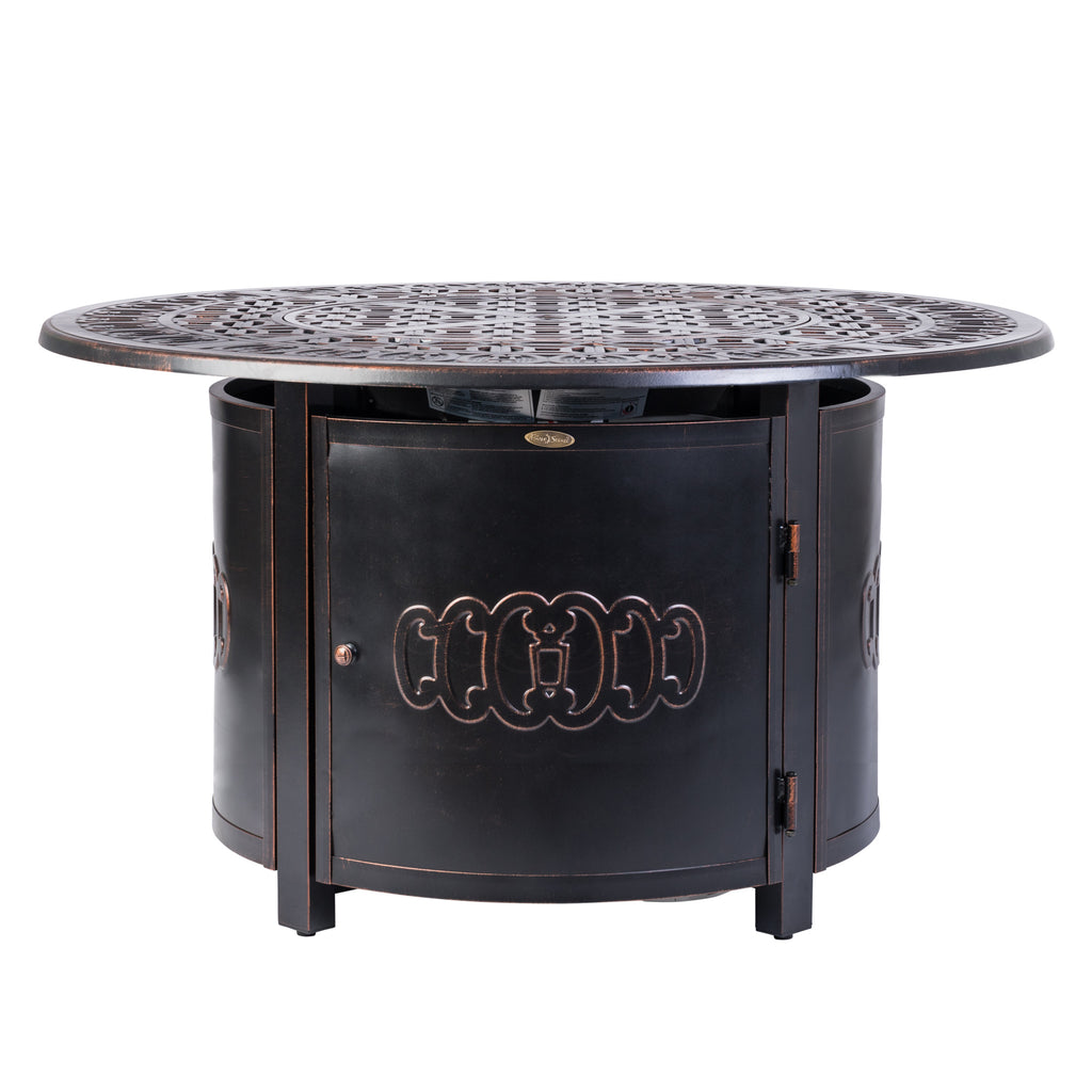 Dynasty Round Aluminum LPG Fire Pit