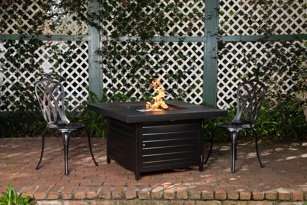 Finn Square Aluminum LPG Fire Pit (Costco.com Exclusive)