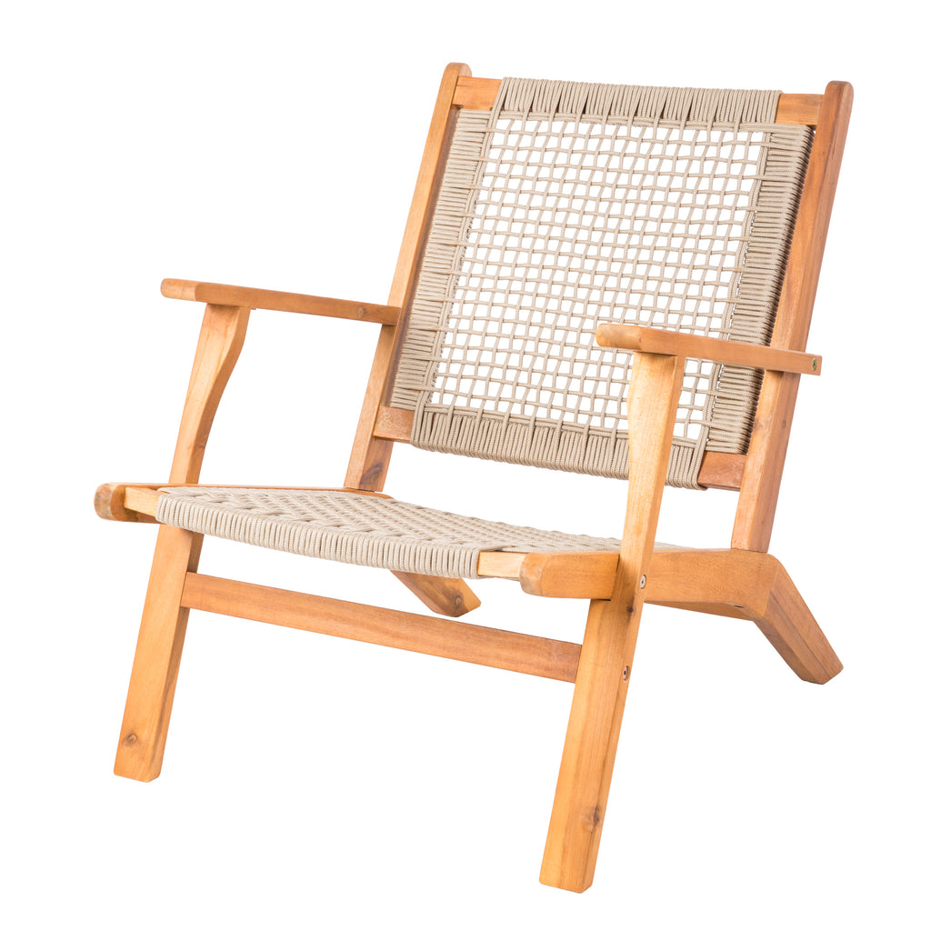 Vega Natural Stain Outdoor Chair