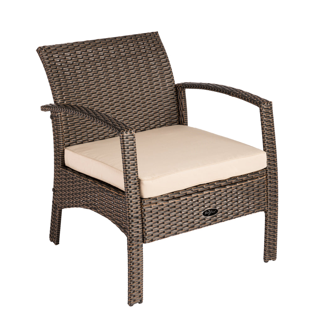 Bondi Wicker Outdoor Armchair – Fire Sense