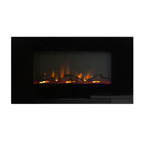 "36"" Wall Mounted Electric Fireplace"