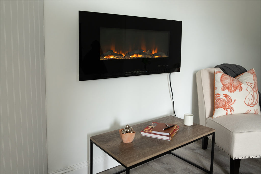"42"" Wall Mounted Electric Fireplace"