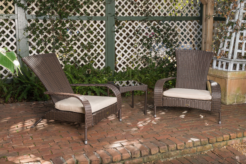 Coconino Wicker Conversation Set