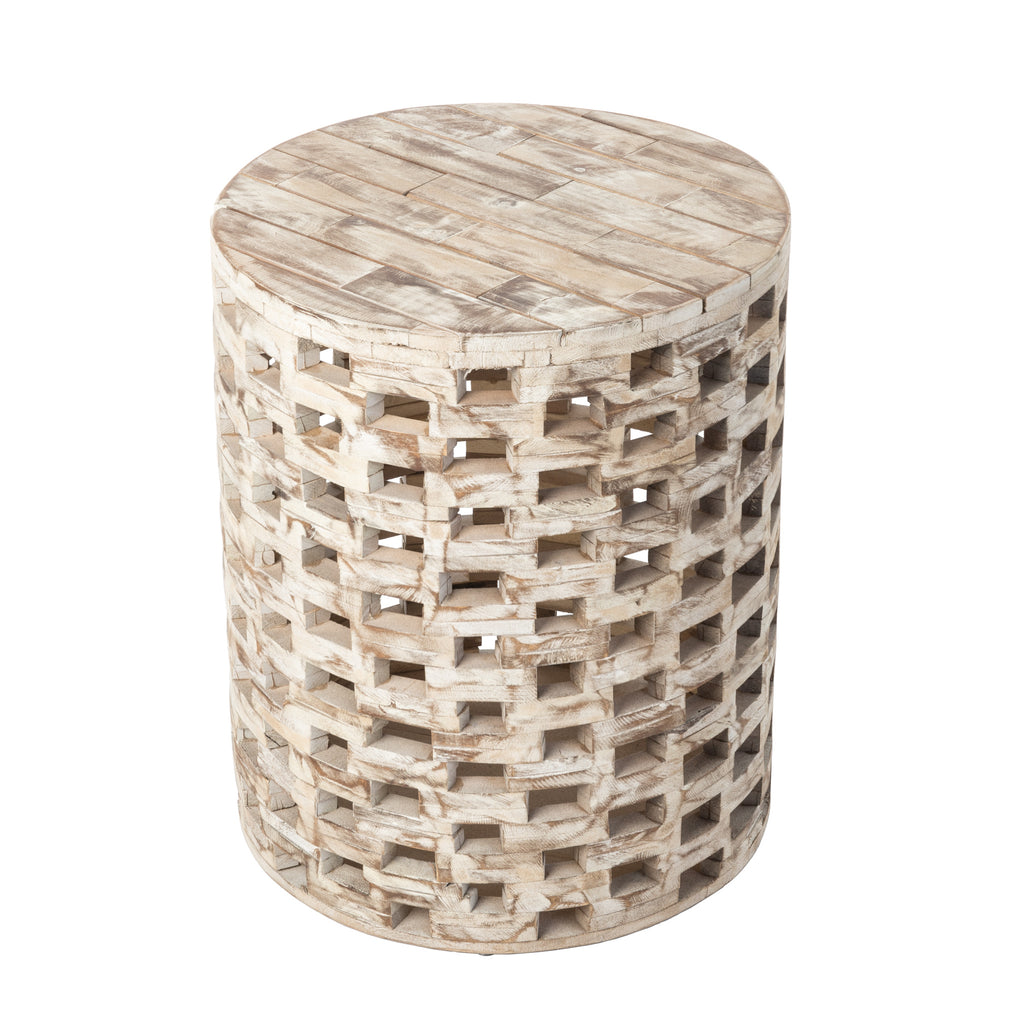 Parker Round Indoor/Outdoor Garden Stool/Table