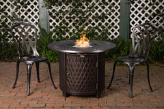 Wagner Aluminum Round LPG Fire Pit