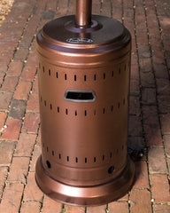 Aged Chestnut Finish Patio Heater