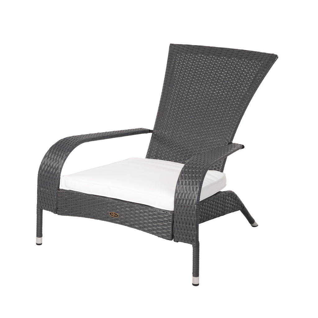 Coconino Wicker Chair in Gray