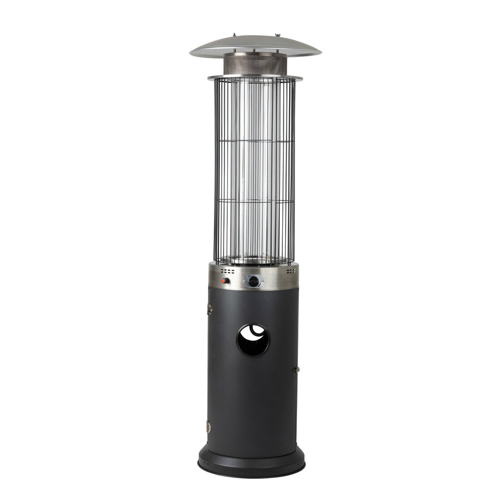Spiral Flame Patio Heater in Arctic Gray - Costco.com Exclusive