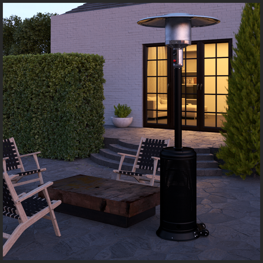 Lux Series Patio Heater in Matte Black (Costco.com Exclusive)