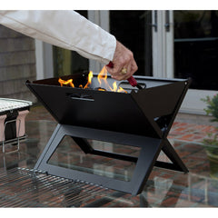 Black Notebook Charcoal Grill
