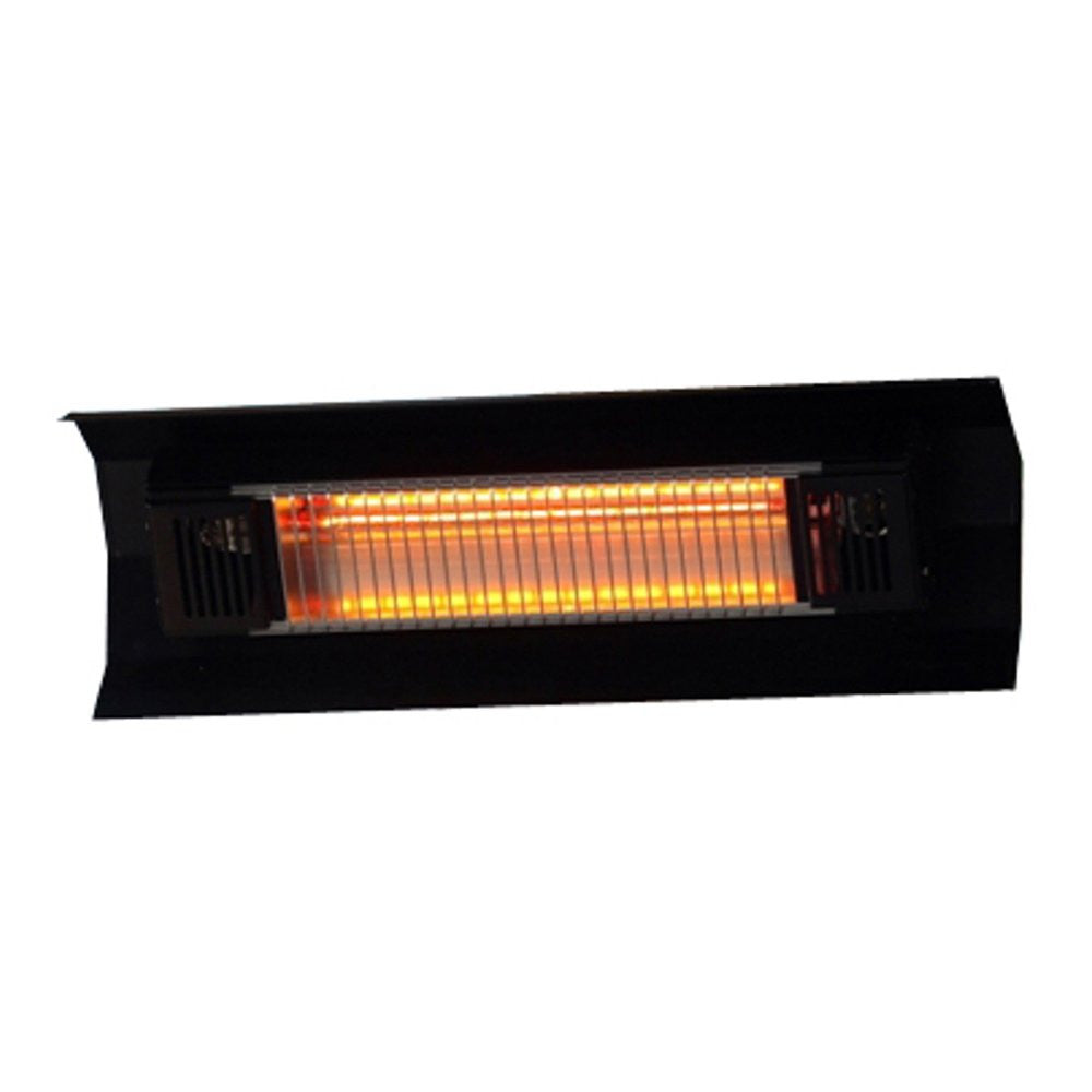 black steel wall mounted infrared patio heater - Infrared Patio Heater