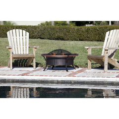 Copper Rail Fire Pit