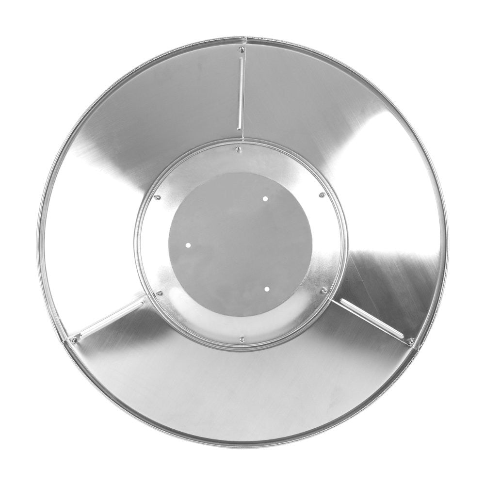 Heat Reflector Shield 3 Hole Mount Original Version Removed Stainless Steel