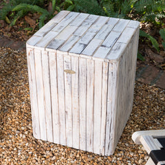Michael Square Garden Stool
