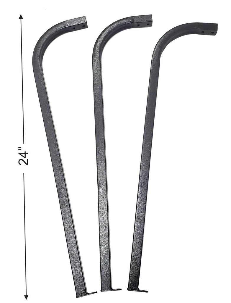 Post Supports for Tall Heaters (Set of 3)