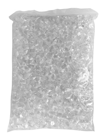 4.4lb Bag of Clear Fire Glass