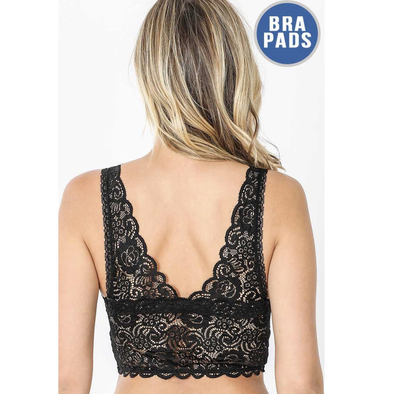 Seamless Stretch Lace Bralette