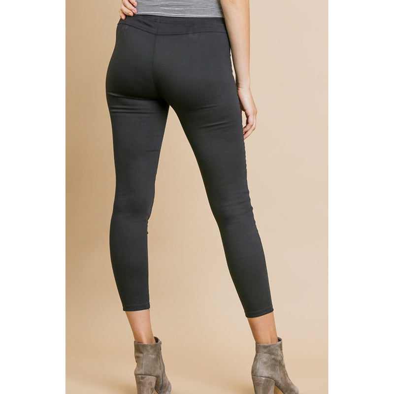 High Waist Moto Leggings - Available in 2 Colors