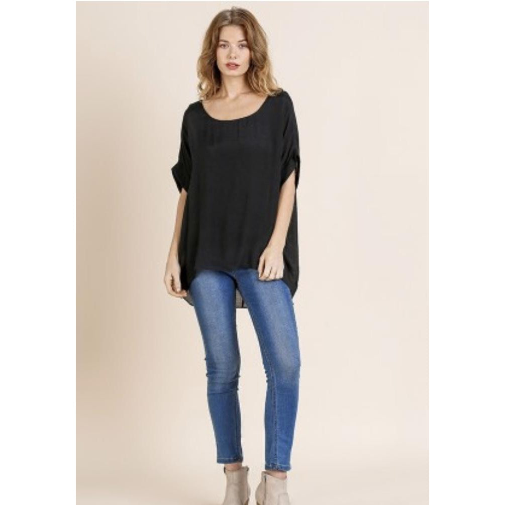 Dolman Sleeve Top with Lining