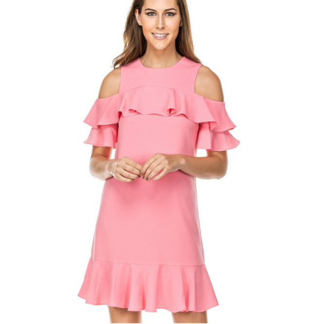 Jade Candy Ruffles Dress