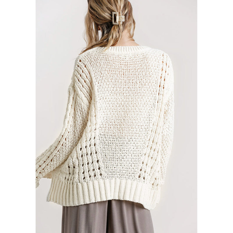 Cozy Up Cable Knit Sweater