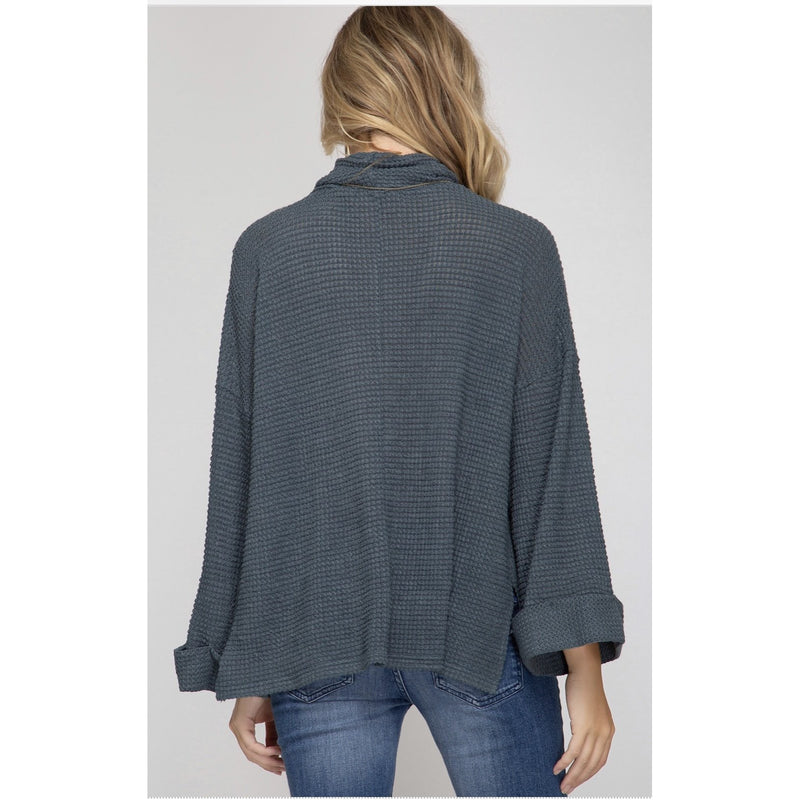 Sadie Thermal Knit Top
