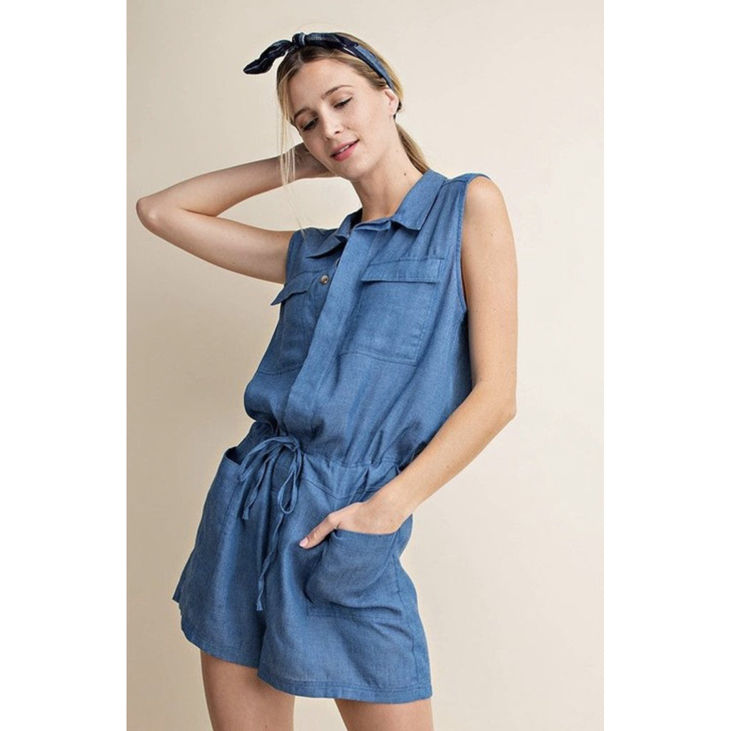 Betty Blue Romper