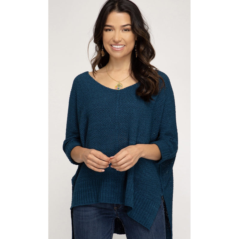 Amelia Hi Low Sweater - Available in 2 Colors