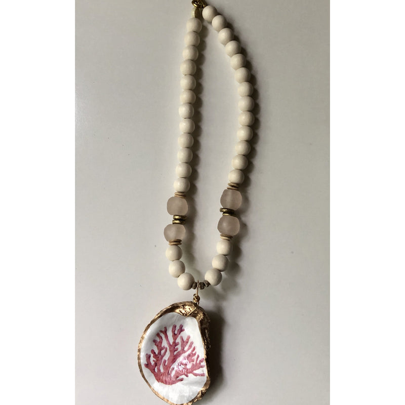 Anchor Beads - Oyster Shell Coral