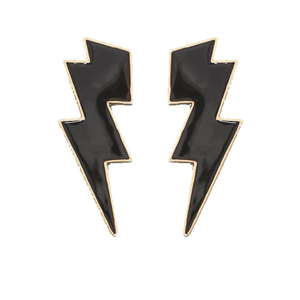 Thunderbolt Earrings