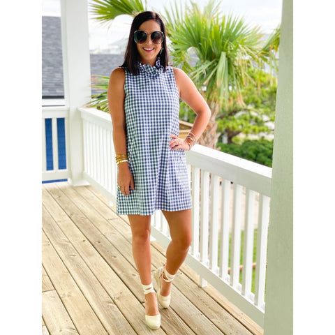 Blue Heaven Stripe Dress