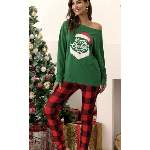 Merry Christmas Lounge Wear Set