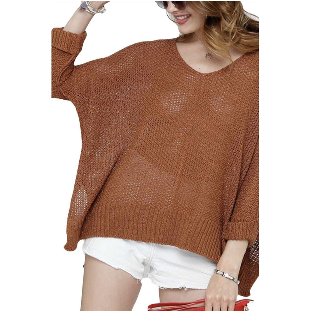 Campfire Knit Sweater