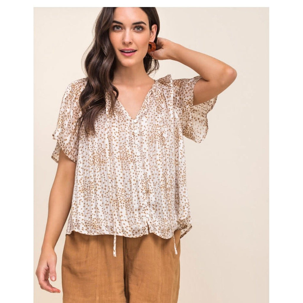 Laney Peasant Top