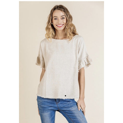Ruffles Away Top