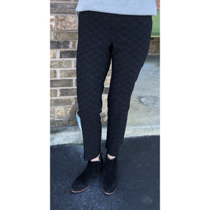 Up! Pant in Black Circles