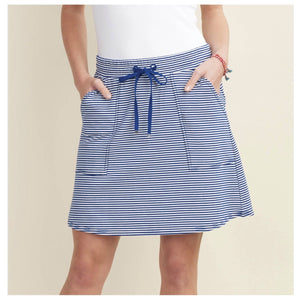 Hatley Christine Skirt in Blue Abyss
