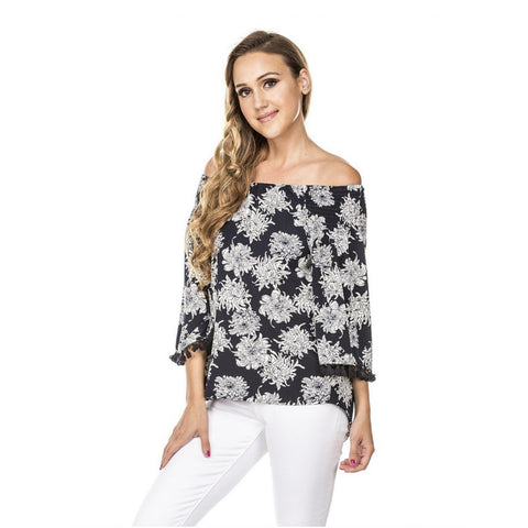 Jade Open Shoulder Blouse