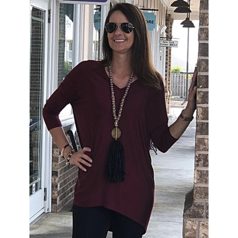 Jade Smocked Neck Blouse