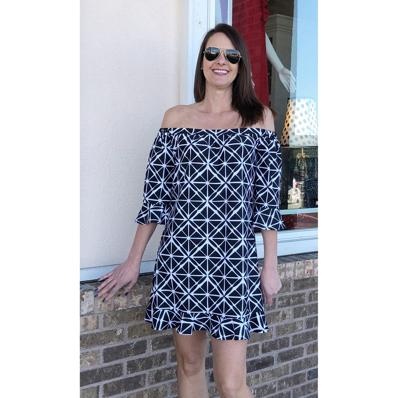 Jude Connally Celine Off Shoulder Dress