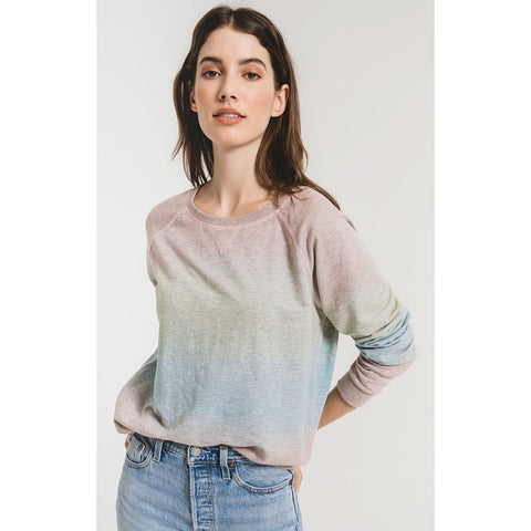 Shaker Sweater - Mineral Washed Bisque