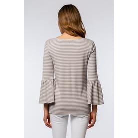 Tyler Boe - Stripe Scoop Neck Top