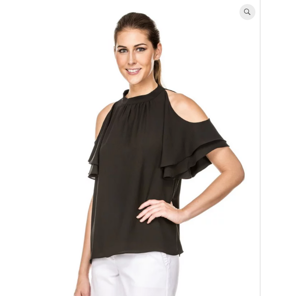 Jade - Cold Shoulder Top