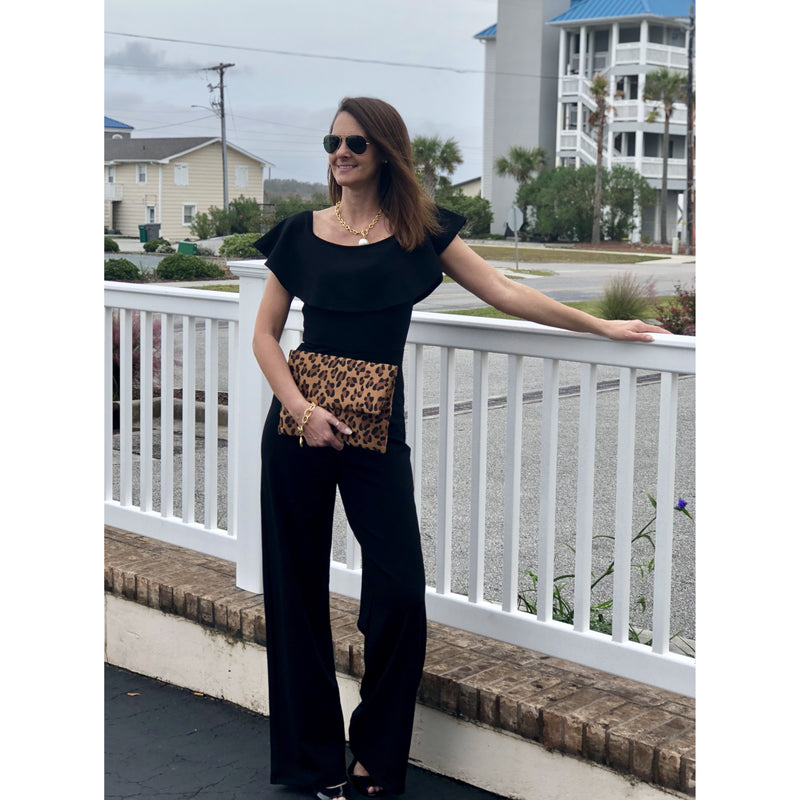 Karlie Off Shoulder Jumpsuit