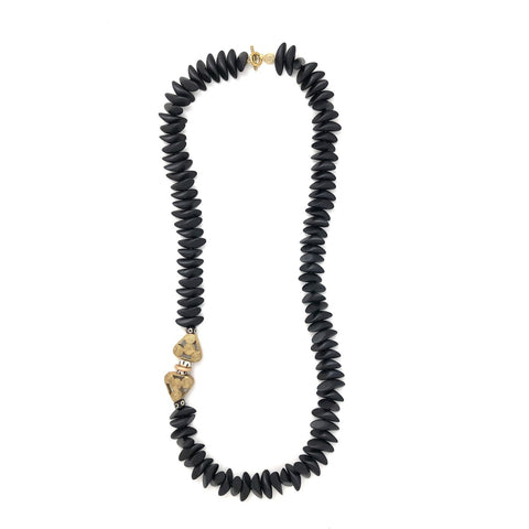 Anchor Beads - Tumbled Wood Black