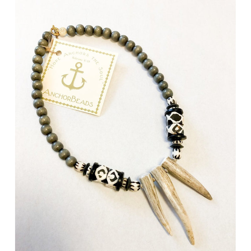 Antler Points Necklace