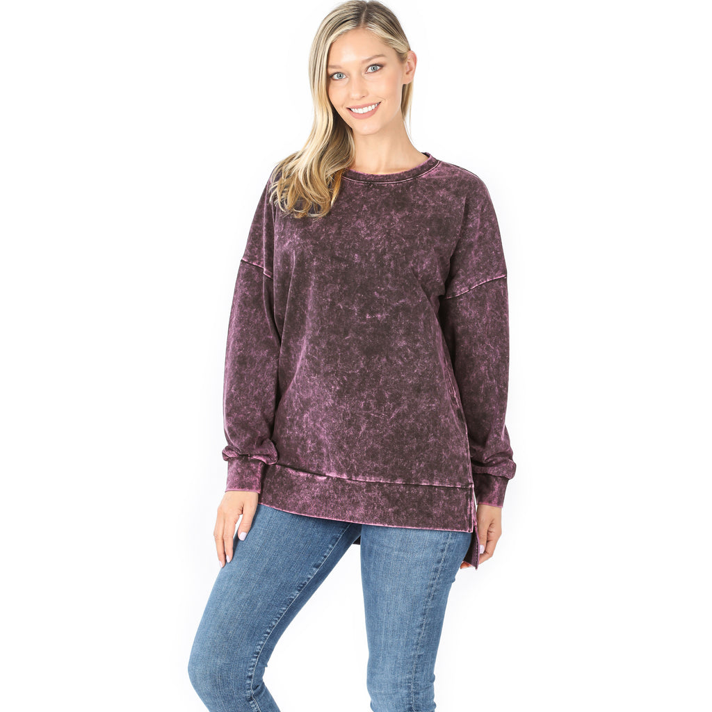 Lazy Day Mineral Wash Sweatshirt