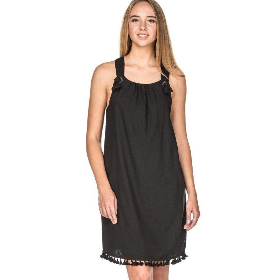 Joy Joy Knot Trim Dress