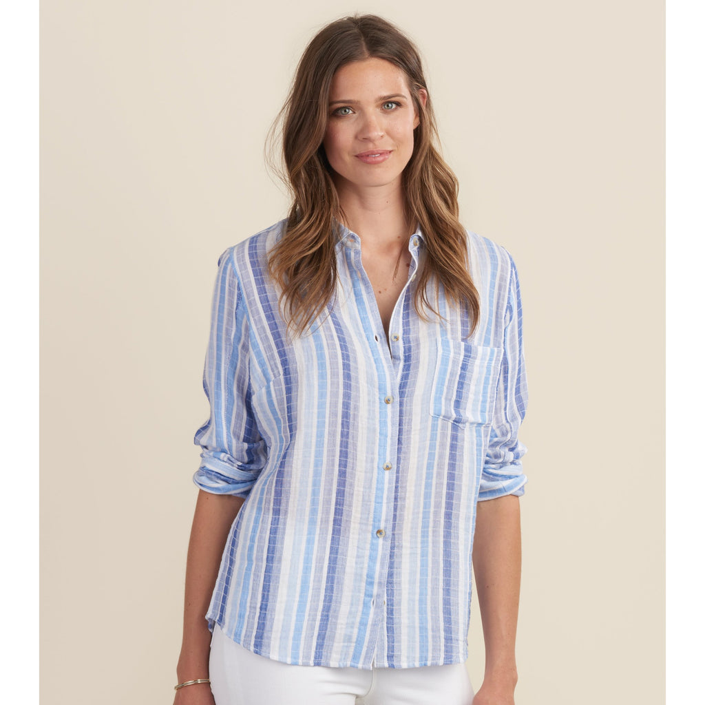 Hatley Cindy Shirt in Ice Up Blue