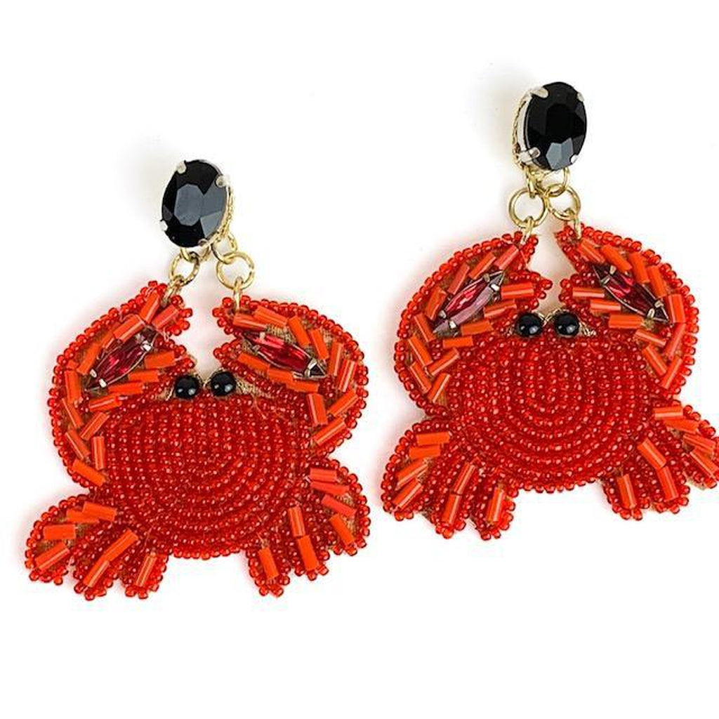Allie Beads - Crab Earrings
